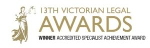 Victorian Legal Accredited specialist award