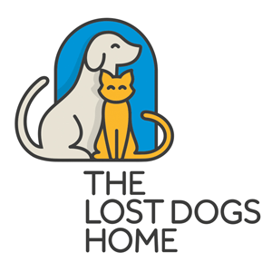 The lost dogs home logo